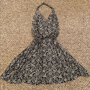 Diane Von Furstenberg Halter Wrap Dress